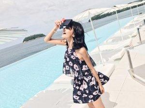 告别传统性感泳衣,夏天游泳来点不一样的清新甜美范