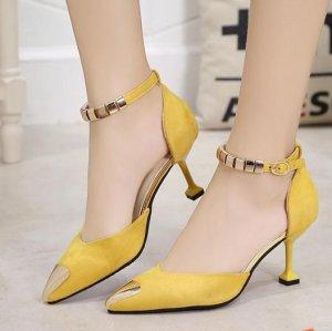 简单装束配上高跟鞋,就能让你身材完美气场十足还拥有满满女人味