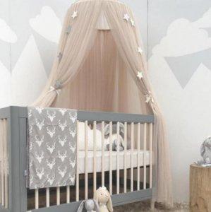 """还在用儿童护栏吗?巨流行的防蚊梦幻帐篷,打造宝贝的""""小城堡"""""""