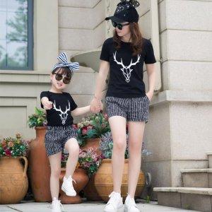 夏季时尚母女装,在家就是母女,出街就是姐妹花