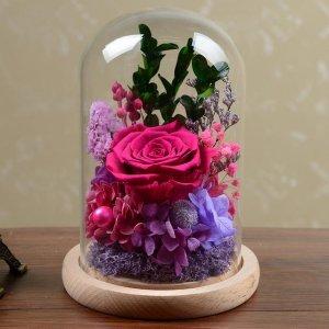 七夕将至, 爱她就送她美丽的永生花,表达忠贞不渝的爱情
