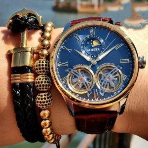 全自动机械手表,尽显男士时尚魅力,你值得拥有