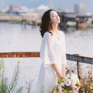 七夕就应该送她一件如花的连衣裙