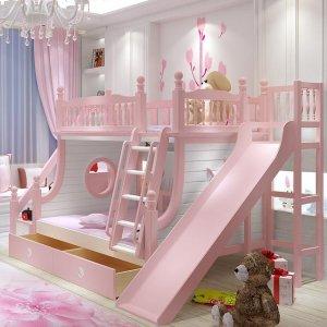 现在流行这几款公主子母床,完成女儿的公主梦,第5款太梦幻了