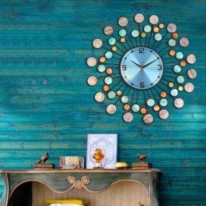 田园风复古时钟,让你的家充满更多新意,焕然一新