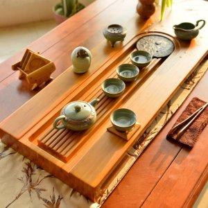爱喝茶但缺少仪式感,也许还差一个复古茶盘,还有神奇的作用