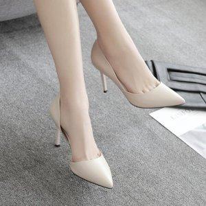 秋季最受欢迎的尖头高跟鞋,小个子女生必入!在视觉上有效显腿长