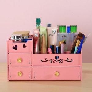 高颜值的化妆品收纳盒,好看又实用,尤其是第2款