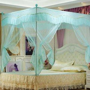 这样飘逸又浪漫的蚊帐,每天睡觉香香的,再也不用担心蚊虫叮咬了