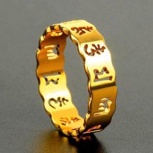 过时戒指不要戴,这样新潮样式的黄金戒指,款款都精致