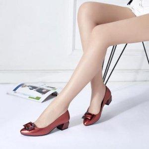 17新款真皮单鞋,舒适透气显腿长,穿出魅力时尚新高度