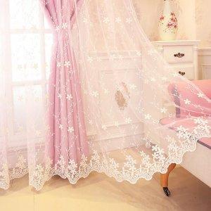 普通窗帘已经过时,现在都流行这样的,浪漫又温馨