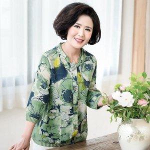 新款时尚妈妈装:50岁妈妈穿上显瘦时髦又减龄