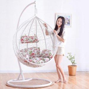 懂得生活的人,家里的阳台或者客厅都会放这样的吊床座椅