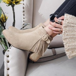 新款百搭潮流马丁靴,真皮舒适又透气,复古风十足
