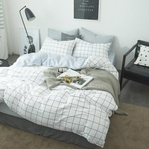 四季可用的纯棉床上四件套,温馨浪漫又柔软舒适,躺下就不想起来