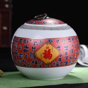 """""""古色古香""""的陶瓷茶叶罐,让储茶更有道,让生活更雅致"""
