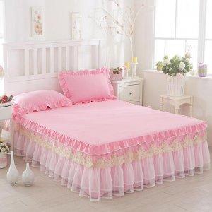 老妈刚刚换的床罩,我被吓了一跳,太梦幻都不敢相信