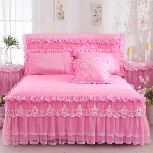 传统床单已跟不上潮流了,现流行这样床上四件套,浪漫精致又好看