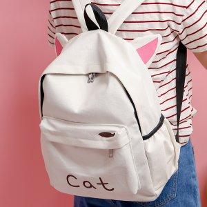 双肩包才是学生党的网红包,甜美显活力还特时髦呀