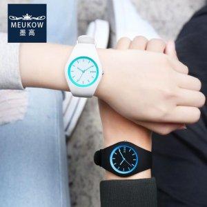 鹿晗关晓彤公开恋情,原来这手表竟是情侣款