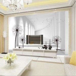 平凡的家庭,不平凡的室内装修,你只差一副完美的墙纸而已