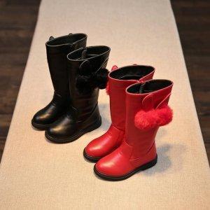 4款加厚儿童皮靴,完美穿出孩子的童年稚气
