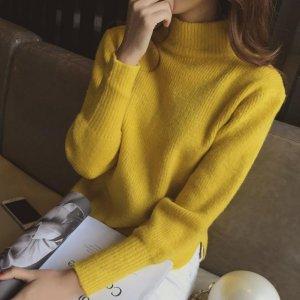 初秋,爱美的你,需要一款气质针织衫,时髦洋气还实穿