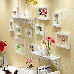 完美照片墙,记录爱的足迹,让客厅变得更加有趣