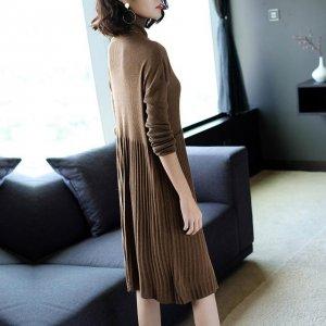 30岁的女人独爱的针织连衣裙,穿出优雅小资腔调