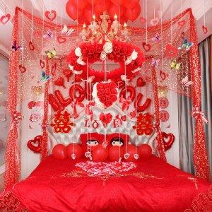 参加姐姐婚礼,她家婚房这样布置太浪漫了,等我结婚也要这样装