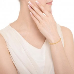 黄金手链一点都不俗气,选对了款式显白又增气质,第6款最吸引人