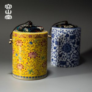高颜值复古茶叶罐,让储茶也有艺术气息