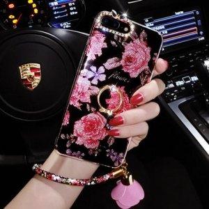 手机壳保护套个性创意彩绘防摔软胶女款潮牌手机外壳 彩砖