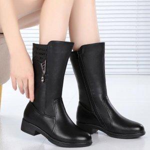 入冬了,我想买第4款短靴,老公说第8款好看,咋办呢?