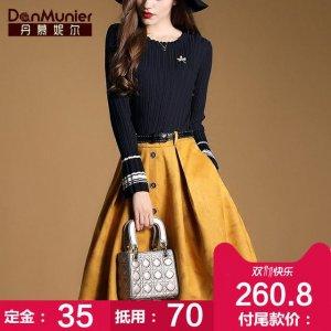 秋冬最流行的6款连衣裙,洋气的让人移不开眼,小仙女快来围观