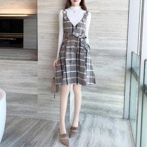 矮个子女生千万别穿长裙,学学这个女人这样穿,时尚更具女人味