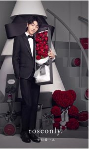 roseonly品牌全新代言人王俊凯 心怀无畏为爱而来