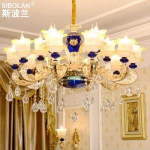 10款高贵欧式吊灯,让你邂逅普罗旺斯的浪漫风情