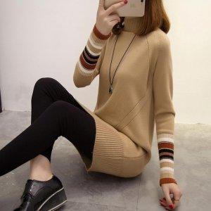 立冬了!要买就买今年流行的半高领毛衣,不怕冷更有女人味