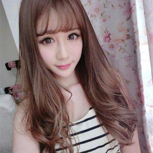 还去烫染什么头发!今年流行的韩式假发,一天一款一周不重样