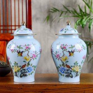 美貌景德镇陶瓷花瓶,让家多点复古艺术感