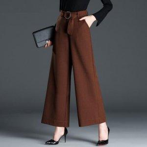 30―40岁的女人别穿打底裤了,穿阔腿裤减龄又颇有韵味魅力