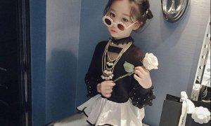 穿久淑女范的小公主,也可以试试变成暗黑系小女巫