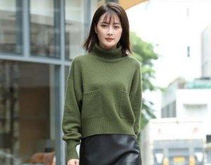 纯色百搭毛衣时尚优雅又不失活力 你有get到它的美吗