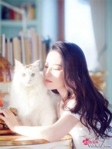 刘亦菲写真宛如邻家少女  网友大呼画面感很惬意