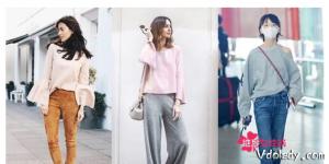 春季穿什么最时尚  让喇叭袖承包你的穿搭!