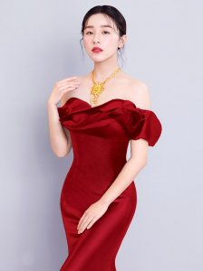 阚清子正式出任梦金园黄金珠宝品牌代言人