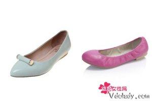 春季平底女鞋搭配更加出彩   教你穿出大长腿和优雅气质