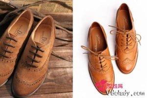 时尚单品复古风格牛津鞋   选择适合自己的一款